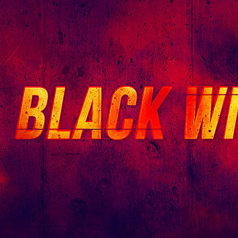 "PSD Files - Create ""Black Widow"" Movie Inspired Text Effect in Photoshop"