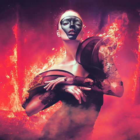 Premium Tutorial - Create Burnt Lady Photo Manipulation in Photoshop