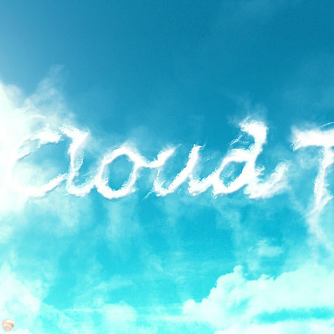 PSD File - Design an Interesting Cloud Text Effect in Photoshop