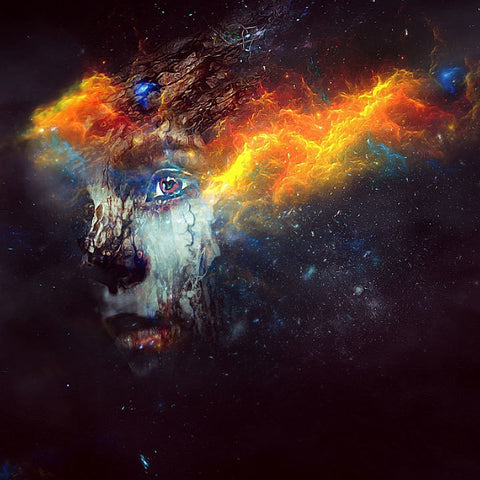 "PSD File - Create ""Drift in Space"" Digital Art in Photoshop"