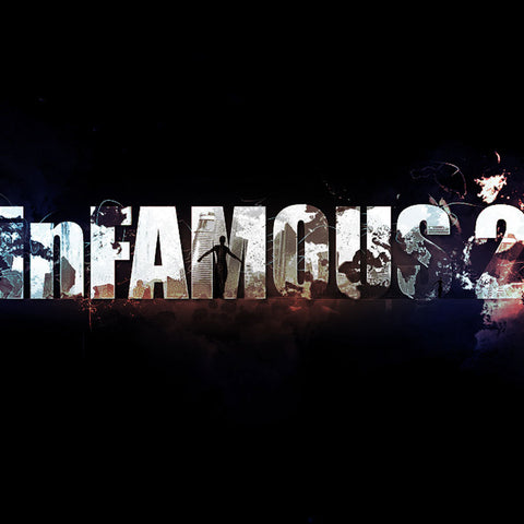 "PSD File - Create a Grungy Style Text Effect Inspired by ""Infamous 2"" Game in Photoshop"