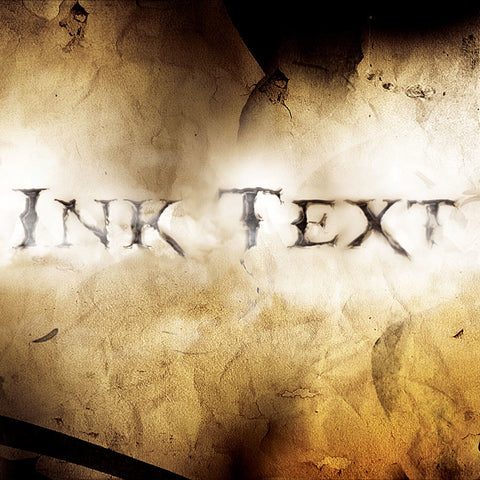 PSD File - Create a Dissolved Ancient Ink Text Effect in Photoshop