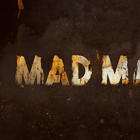 "PSD File - Create Rusted Metal Text Effect Inspired by ""Mad Max"" Movie"