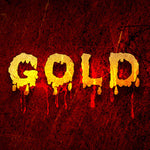 PSD Files - How to Create Melting Gold Text Effect in Photoshop