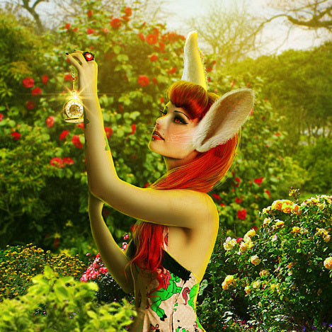 "PSD File - Create Photo Manipulation with ""Alice in Wonderland"" Theme in Photoshop"