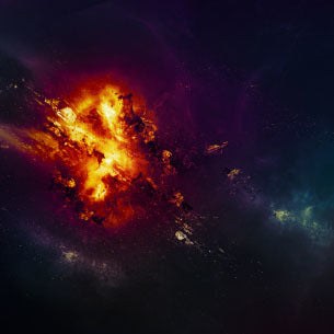 PSD File - Create Awesome Planet Explosion Effect in Photoshop