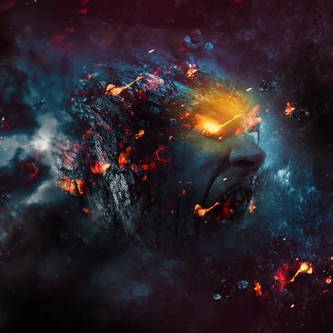 "PSD File - Create ""Rage Planet"" Photo Manipulation in Photoshop"
