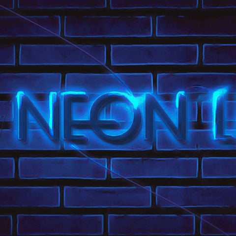 PSD File - Create Unique Neon Text Effect in Photoshop