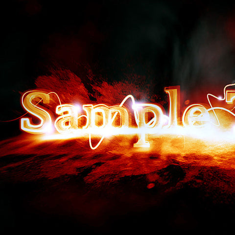 PSD File - Design Awesome Glowing Edge Text Effect in Photoshop