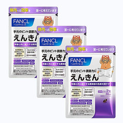Japan FANCL Smartphone Enkin Eye Care Japanese Supplement (Blueberry Extract) Focus Adjustment 180 Tablets