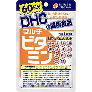 Multi Vitamins (60-Day Supply) This product contains 12 vitamins including vitamin C and E, along with folic acid and vitamin P which promotes vitamins' mutual functional support. Not only it complies to the product specification of Food with nutrient function claims, all 12 vitamins contain higher nutrient amount (100 % to 320 %) than the nutrient reference values which enables efficient intake with just 1 capsule daily. Easily charge up your body with 12 Vitamins!