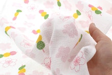 Load image into Gallery viewer, Imabari Towel Face Towel Cloth Royal Flower Dumplings Pink 33 x 100 cm