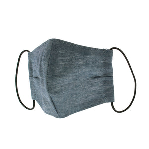 Denim Mask SETTO Linen Chambray- Approx. 14×23cm BMASK003 [Direct from Japan]
