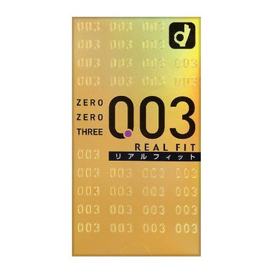 Zero Zero Three Condoms 0.03mm Real Fit 10 pcs
