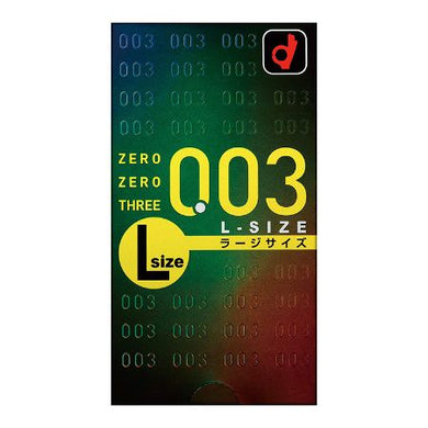 Zero Zero Three Condoms  0.03mm L size 10 pcs