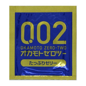 Zero Two Condoms 0.02mm Fully Jelly 6 pcs