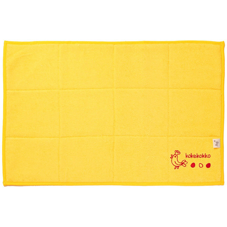 OKA (Back Mesh) Ag+ Anti-bacterial Water Drainage Water Absorption Mat  Approx. 28�~40cm Yellow