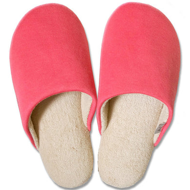 OKA �yAnti-bacterial Deodorization�z Ag+ Feel At Ease Slipper SOFTY 2 M Size (Approx. 23�~25cm max.) Red
