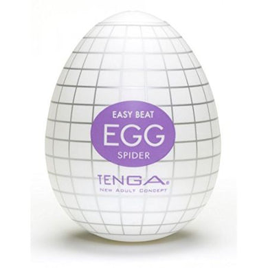 TENGA EGG SPIDER. ONA-CAP is new, easier and more comfortable than before. Super stretch material TENGA EGG debut!  Egg has three types of detail. In the future, there will be more variations and