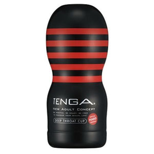 Original Vacuum Deep Throat CUP Hard Revolutionary TENGA Cup Series  Revolutionizes adult goods.  We will change sex into something that everyone can enjoy.  Please experience the revolutionary bodily sensation born of a great dream and mission.   The deep throat cup representative of TENGA.  Enjoy the vacuum feeling of the air hole and the tightening feeling of the unique constricted shape.