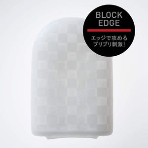 POCKET TENGA BLOCK EDGE POT-003 Rumbling sensational squares!  Pleasure beyond your hand, smaller than your pocket! TENGA's new slim-stretch material brings you a portable pleasure item that will stretch to fit almost any size of man. Pocket pleasure that packs a punch!