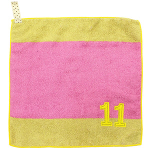 IMABARI Towel mama&me NUMBER-COLOR Kids Hand Towel (Length 28 x Width 29cm) Lavender (NO.11)