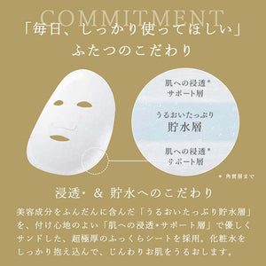 LULULUN PRECIOUS FACE MASK WHITE (Glossy Brightening)- 32 PCS, Japan Bestselling Beauty Face Mask
