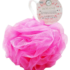 OHE & Co. Lorraine Bubbly Net Bath Ball Body Use Pink