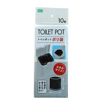 OHE & Co. Toilet Corner Pot Use Poly Bag
