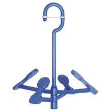 Load image into Gallery viewer, OHE & Co. ml2 Foot-Kun Shoes Hanger Blue