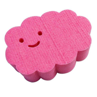 AISEN Bathroom Stick-on Cleaning Sponge Pink