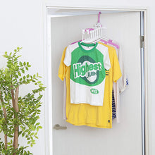 Load image into Gallery viewer, AISEN Indoor & Outdoor Shirt Drying Hanger 6 Connected WH*PI