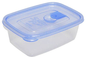 IWASAKI INDUSTRY Smart Flap Container AG+ Rectangular L 2P A-042 LB Blue