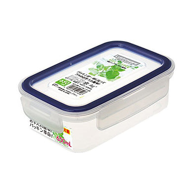 Airtight Lock Food Storage Container Box, Easy Care  650ml A-2172