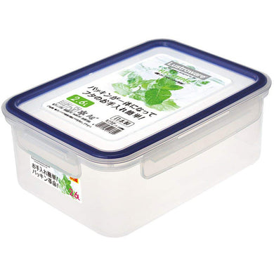 Airtight Lock Food Storage Container Box, Easy Care  2.6L Deep-type A-2176