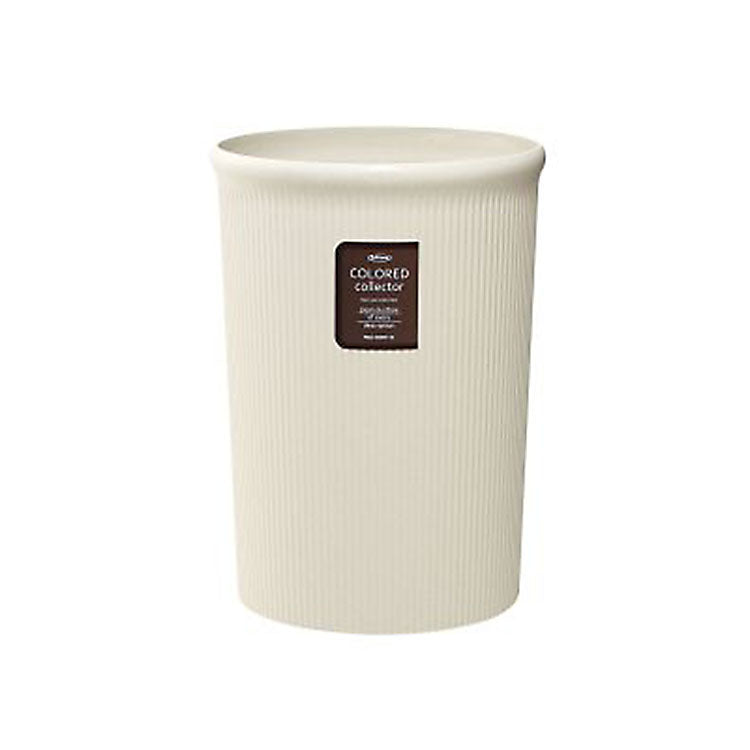IWASAKI INDUSTRY Color Collector Trash Bin L L-1062IV Ivory