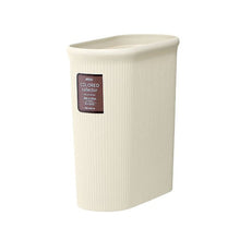 Load image into Gallery viewer, IWASAKI INDUSTRY Color Collector Trash Bin Slim M L-1070IV Ivory