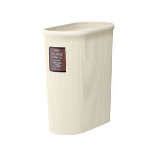 IWASAKI INDUSTRY Color Collector Trash Bin Slim M L-1070IV Ivory