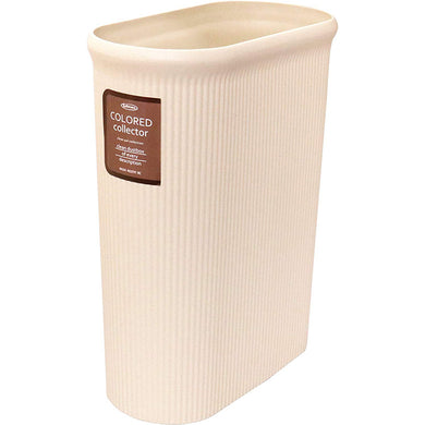 IWASAKI INDUSTRY Color Collector Trash Bin Slim L L-1071IV Ivory