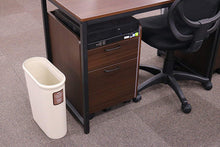 Load image into Gallery viewer, IWASAKI INDUSTRY Color Collector Trash Bin Slim L L-1071IV Ivory