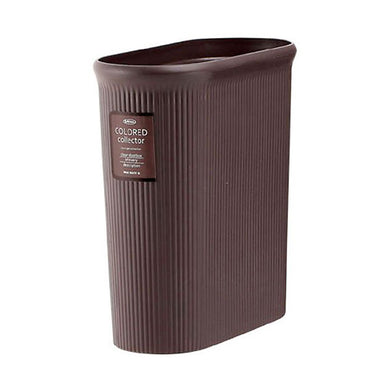 IWASAKI INDUSTRY Color Collector Trash Bin Slim M L-1070BC Bitter Chocolate