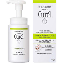 Load image into Gallery viewer, Curel Sebum Trouble Care Sebum Care Foaming Face Wash Cleanser 150ml, Japan No.1 Brand for Sensitive Skin Care