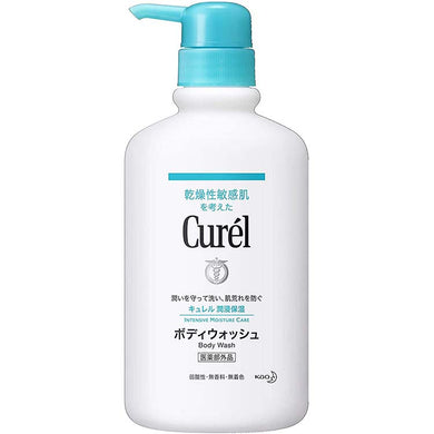 Curel Moisture Care Body Wash 420ml, Japan No.1 Brand for Sensitive Skin Care  (Suitable for Infants/Baby)
