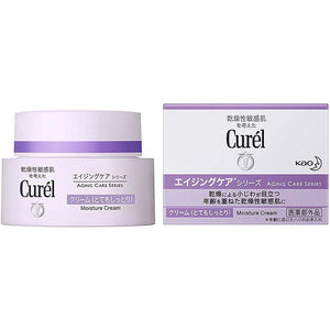 Curel Aging Care Series Moisture Cream 40ml, Japan No.1 Brand for Sensitive Skin Care