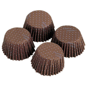 KAI HOUSE SELECT Baking Tools Chocolate Type Paper Cocoa-Type Mould Polka Dot 40 Pcs Included