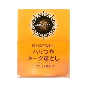 Shiseido AQUALABEL Make-off Cleansing Cream 125g, Japan Beauty Makeup Remover