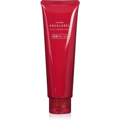 Shiseido AQUALABEL Milky Mousse Foam 130g Japan Facial Cleanser