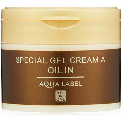 Shiseido AQUALABEL Special Gel Cream Oil In 90g All-in-One Japan Anti-aging Dry Skin Care