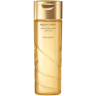 Shiseido AQUALABEL Bouncing Care Lotion RM 200ml (Quasi-drug) Japan Rich Moisture Anti-aging Skin Care