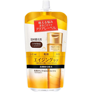 Shiseido AQUALABEL Bouncing Care Lotion RM Refill 180ml (Quasi-drug) Japan Rich Moisture Anti-aging Skin Care